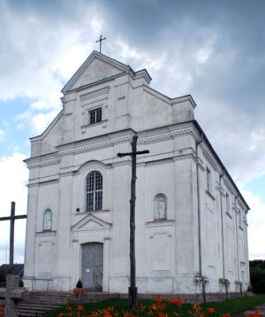 Kleszczele Kosciol Katolicki Front-side View 2